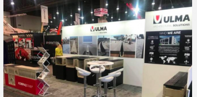 Sistemas de Drenaje ULMA en WORLD OF CONCRETE 2018