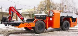 Una grúa Fassi M30A.12 para la minería en Minsk