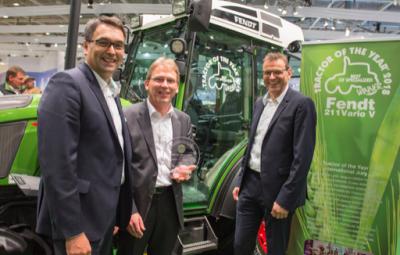 El Fendt 211 V Vario,  Tractor of the year 2018