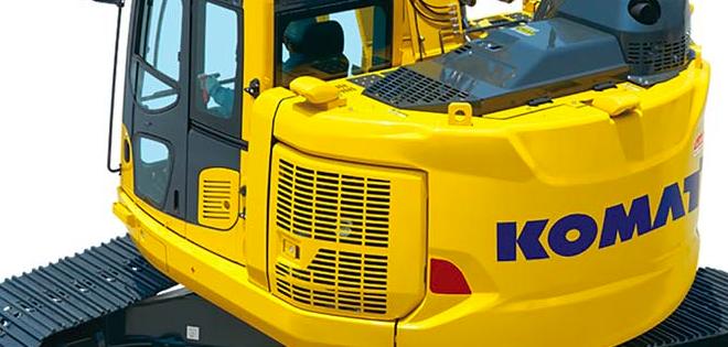 La nueva excavadora  Komatsu PC228USLC-11