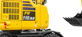 Komatsu Europe presenta la excavadora PW118MR-11
