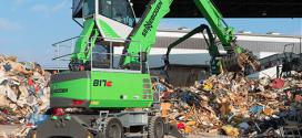 El nuevo manipulador SENNEBOGEN 817 E para la industria de residuos
