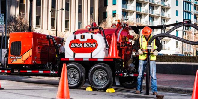 Ditch Witch lanza una nueva y avanzada línea de excavadoras por aspiración