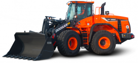 Nuevas características en las grandes cargadoras de ruedas Doosan