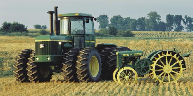 Los tractores de John Deere cumplen 100 años