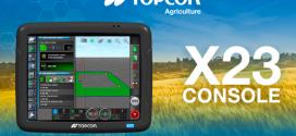 Nueva consola táctil X23 de Topcon Agriculture