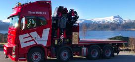Larsnes Last og Buss AS, instala una grúa auxiliar Fassi F1150RA.2.28 xhe-dynamic