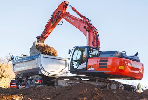 Hitachi ZX300LCN-6 es ideal para proyectos de movimiento de tierras