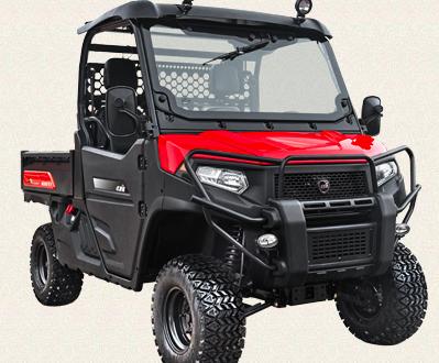 KIOTI amplía sus vehículos utilitarios con la nueva serie K9