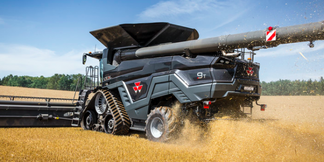 La cosechadora IDEAL de Massey Ferguson ganó el Premio Red Dot