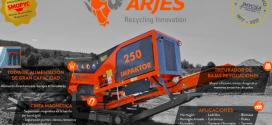 Mycsa presenta el Triturador IMPAKTOR 250 de ARJES Recycling Innovation