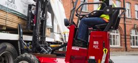 Hiab lanza la carretilla elevadora montada sobre camión MOFFETT M5 NX