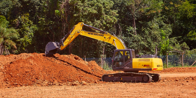 New Holland Construction presente es Construfer