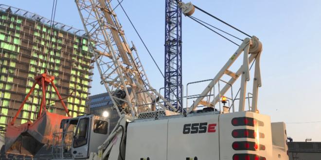 SENNEBOGEN en la construcción del Grand Paris Express