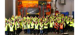 Volvo Construction Equipment presentó su nueva gama de dúmpers en Escocía