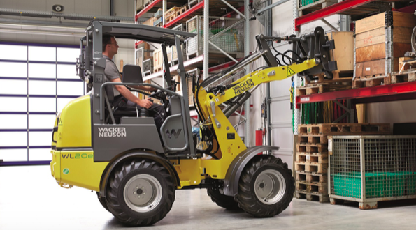 Wacker Neuson y Kramer exhibirán cargadoras de ruedas eléctricas en Intermat