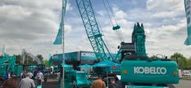 Kobelco Construction Machinery Europe en Intermat