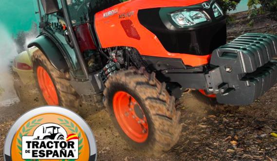 El M5001 N de Kubota, ganador del premio Tractor de España 2018