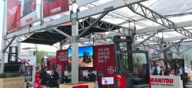 Manitou presenta 3 novedades para el almacén en Cemat