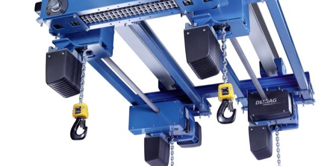Polipasto de cadena cuádruple Demag para una amplia gama de aplicaciones