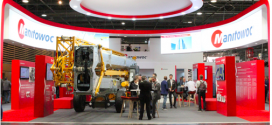 Potain toma el centro del escenario en Intermat Paris