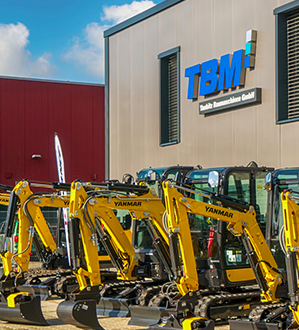 Yanmar Construction Equipment Europe  junto a su distribuidor Taubitz Baumaschinen GmbH
