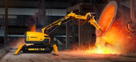 Los robots de demolición Brokk son los más eficientes en fundiciones y acerías