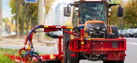 Fendt e100 Vario: el tractor compacto alimentado por batería para uso urbano