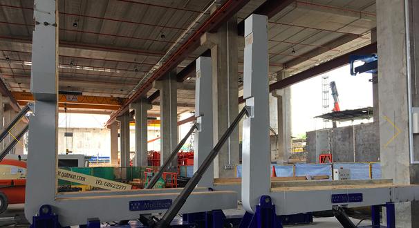 Moldtech ha terminado la fabricación y puesta en marcha de cuatro volteadores