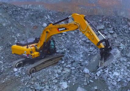 Las máquinas de SANY ganaron el premio para maquinaria de construcción en China
