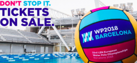 TST servicios patrocinadores de la 33os campeonatos de Europa LEN de Water Polo Barcelona 2018