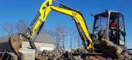 Wacker Neuson presenta dos nuevas excavadoras en la categoría de 3,5 toneladas