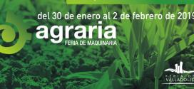 La sexta edición de AGRARIA en enero de 2019