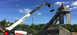 CEMEX se beneficia de la versatilidad de los manipuladores telescópicos Bobcat