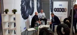 GRI muestra sus neumáticos para construcción e industria en INTERMAT