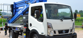 CTE lanza una nueva plataforma articulada sobre camión CTE ZED 25