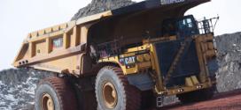 Caterpillar celebra la fabricación 1000 del camión th 797