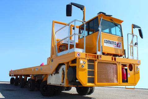 Una nueva acería EET5 / 4E de Cometto para Fincantieri S.p.A.