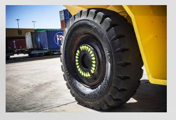 Continental presenta el compuesto Port Plus para su gama de neumáticos OTR para puertos