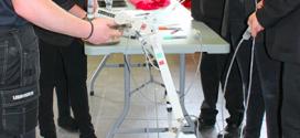 Liebherr patrocina el evento de ingeniería de la institución benéfica en Vertikal Days