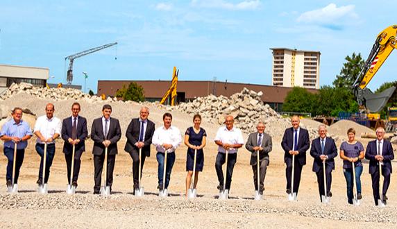 Gran inversión de Liebherr en Kirchdorf para nuevo centro logístico