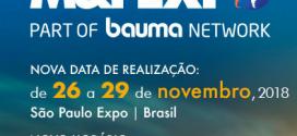 M&T Expo 2018 del 26 al 29 de noviembre en São Paulo