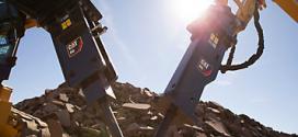 Los martillos hidráulicos Cat® B-Prefix ofrecen un rendimiento óptimo
