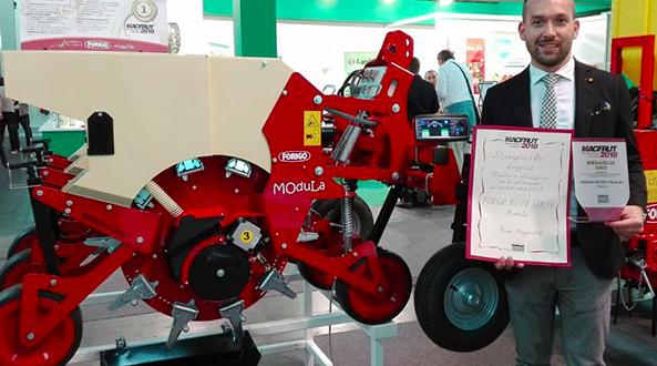 La sembradora Modula de Forigo gana el premio a la Innovación
