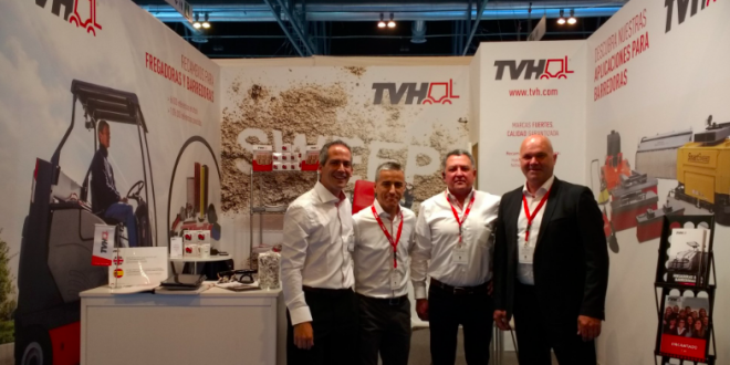 TVH group expone en ESCLEAN