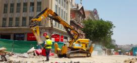Anzeve nos acerca el Robot de demolición Brokk en el metro Sevilla de Madrid