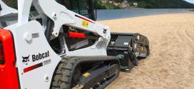 Limpieza más efectiva a orillas del Duero con Bobcat