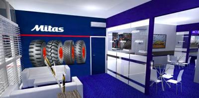Mitas presenta neumáticos en la feria de construcción CTT Moscow