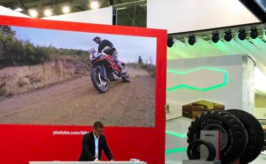Mitas presentó sus neumáticos en la feria Tire Cologne 2018