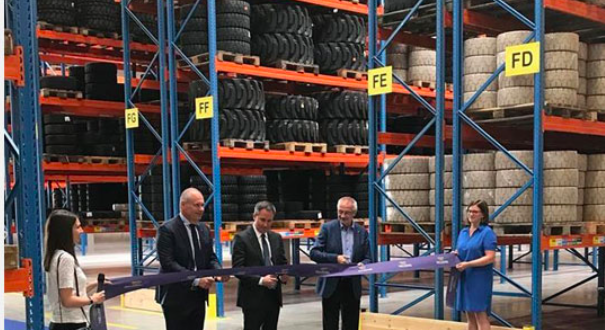 Trelleborg inaugura su nuevo centro logístico europeo